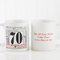 Personalized Birthday Coffee Mug - Another Year