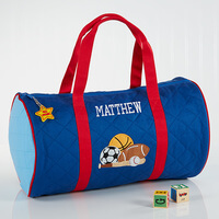 Boys Personalized Sports Duffel Bag & Travel Case