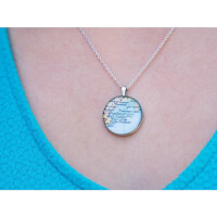 CHART Metalworks: Pewter Necklace