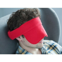 The Travel Halo: Compact Travel Pillow & Mask