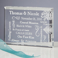 Personalized Romantic Keepsake Gift - Our Life..