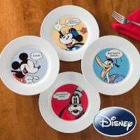 Personalized Disney Plates - Mickey Mouse,..
