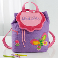 Personalized Kids Backpacks - Butterfly