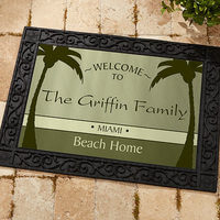 Personalized Doormat - Were Retired