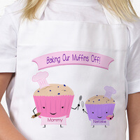Personalized Kids Apron - Baking With Mommy