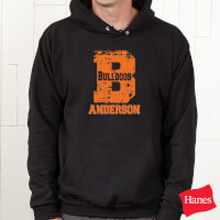 Black Personalized Athletic Sweatshirts - Go Team