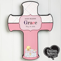Personalized Christening Wall Cross - Precious..
