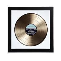 Personalized Gold LP Record