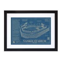 Large Baseball Stadium Blueprints