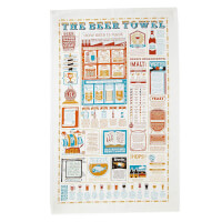The Beer Lovers Tea Towel