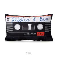 Personalized Mixtape Pillow
