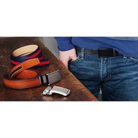 SlideBelts: Classic Belt & Buckle
