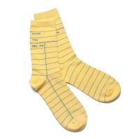 Library Card Socks