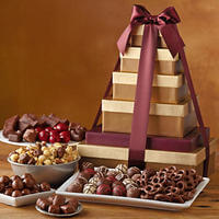 Deluxe Tower Of Chocolates Gift -  Harry And..
