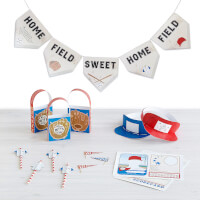 Printable Party Kit - Grand Slam Baseball Party