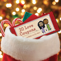 Personalized Romantic Coupon Book - Christmas