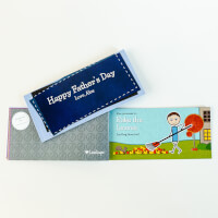 Personalized Romantic Coupon Book - Fathers Day