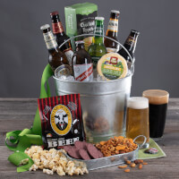 Around The World Beer Bucket - 6 Beers