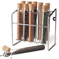 Spice Rack Glass Tube Set