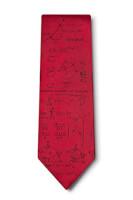 Mathematics Silk Tie