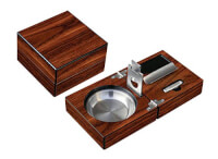 Folding Wood Cigar Set