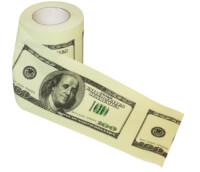 Dollar Bill Toilet Paper