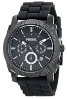 Fossil Mens Silicone Watch
