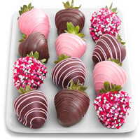 12 Love Chocolate Covered Strawberries