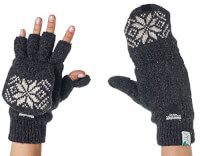 Fingerless Texting Gloves