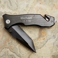 Personalized Pocket Knife - Survivor Emergency..