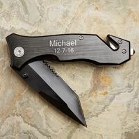 Personalized Pocket Knife - Survivor Emergency..