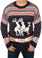 Naughty Reindeers Sweater