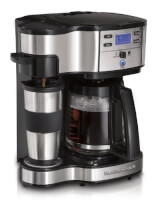 2-Way Single Serve Brewer & Coffee Maker
