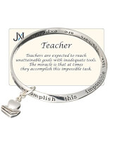Teachers Inspirational Bracelet In Gift Box