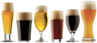 Beer Glasses From Around The World