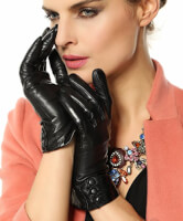 Bestselling Womens Cashmere Leather Gloves