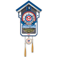 Chicago Cubs Tribute Wall Clock