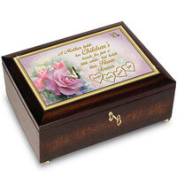 A Mothers Love Music Box Personalized With..