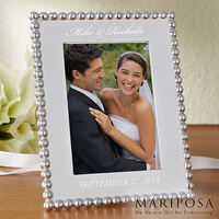 Personalized Wedding Picture Frames - Mariposa..