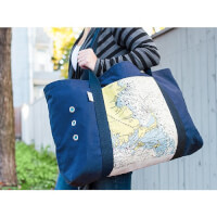 Not For Navigation: Custom Oversized Beach Tote