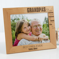 Personalized 8x10 Grandpa Picture Frames -..