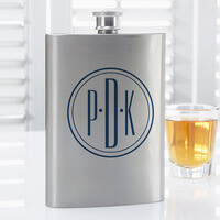 Personalized Drinking Flask - Distinguished..