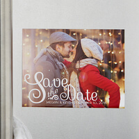 Personalized Photo Save The Date Magnets -..
