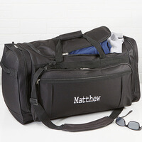 Embroidered Duffel Bag - Deluxe Weekender