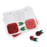Printable Paper Roses