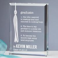 Personalized Graduation Keepsake - Definition Of..