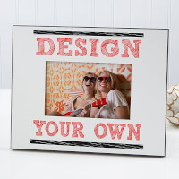 Design Your Own Personalized Picture Frame - White