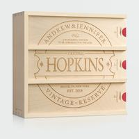 Family Vintage - Anniversary Wine Box