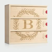 Monogram Cottage - Wedding Wine Box