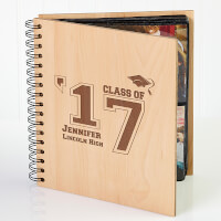 Personalized Graduation Wooden Photo Album